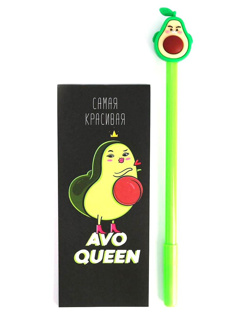Набор ArtFox Avo Queen - блокнот 32 листа + ручка 5177211