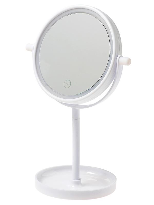 Зеркало косметическое Luazon KZ-04 с подсветкой 3488112