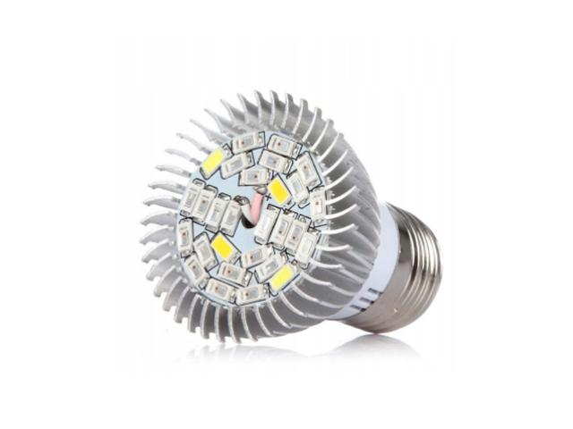 Светодиодная фитолампа URM E27 26 LED 220V 28W IP22 URM-FITO-R-28 / F10012