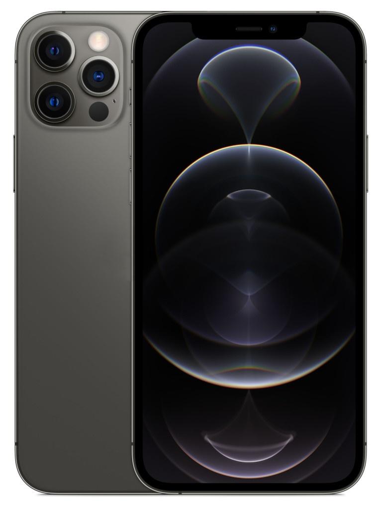 Фото - Сотовый телефон APPLE iPhone 12 Pro 128Gb Graphite MGMK3RU/A Выгодный набор + серт. 200Р!!! сотовый телефон apple iphone 12 pro 256gb graphite mgmp3ru a