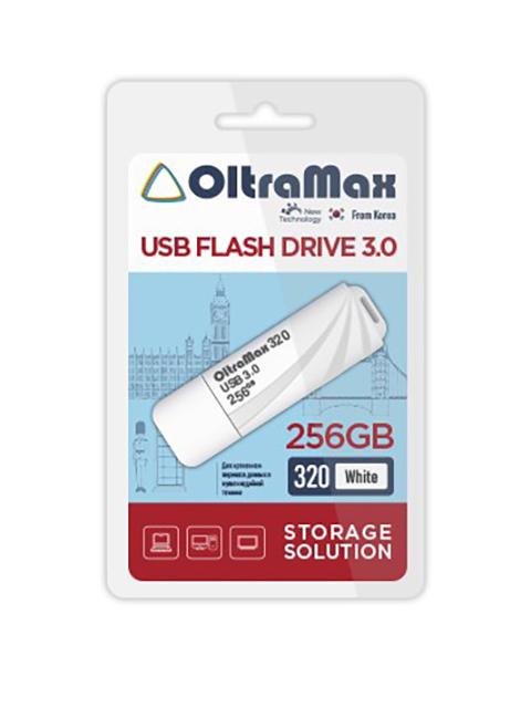 USB Flash Drive 256Gb - OltraMax 320 3.0 OM-256GB-320-White
