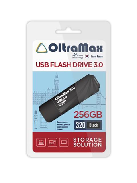 USB Flash Drive 256Gb - OltraMax 320 3.0 OM-256GB-320-Black
