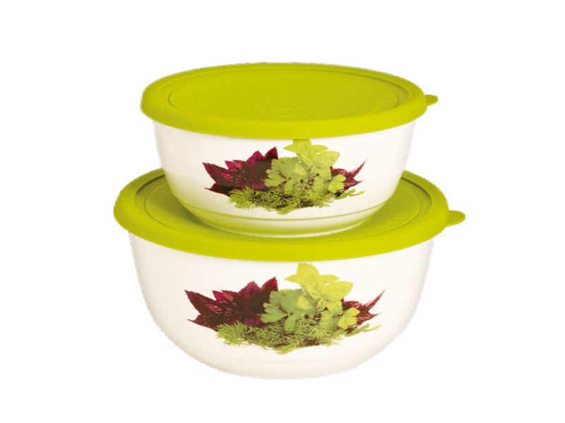Набор салатников с крышкой Oursson BS1890RC/GA набор салатников с крышкой oursson bs1890rc ga