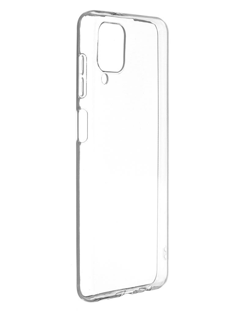 Чехол Zibelino для Samsung A12/A125 Ultra Thin Case Transparent ZUTCP-SAM-A125-TRN