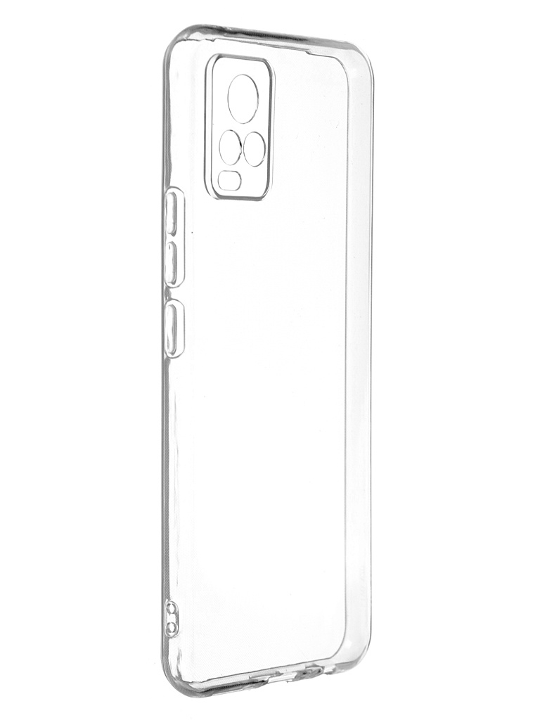 Чехол Zibelino для Vivo V20 Ultra Thin Case Transparent ZUTCP-VIV-V20-TRN