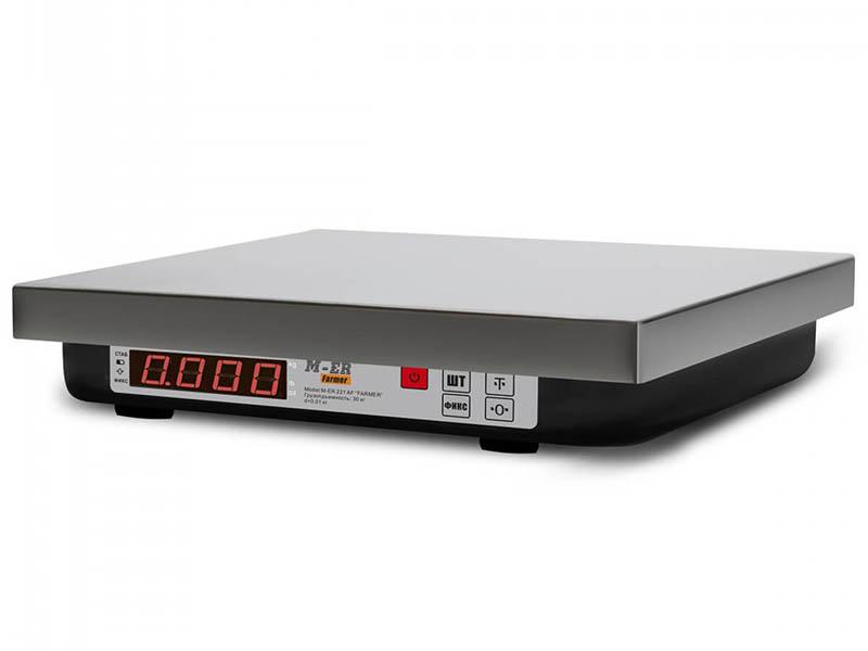 Весы Mertech M-ER 221F-32.5 LED RS232 USB