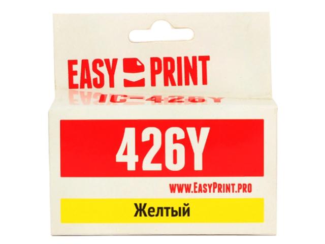 Картридж EasyPrint IC-CLI426Y Yellow для Canon PIXMA iP4840/MG5140/MG6140/MX884