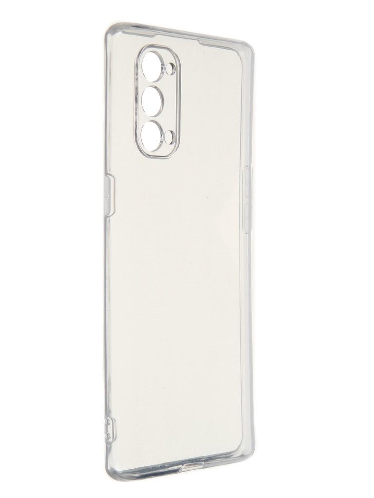 Чехол Krutoff для Oppo Reno4 Pro 5G Clear 11647
