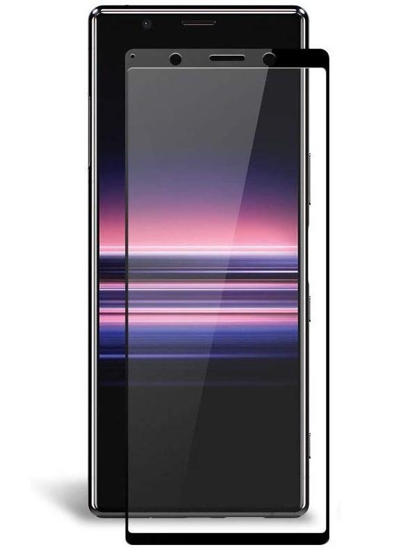 Защитное стекло Ainy для Sony Xperia 5 0.25mm Full Screen Glue Cover Black AF-SA1875A
