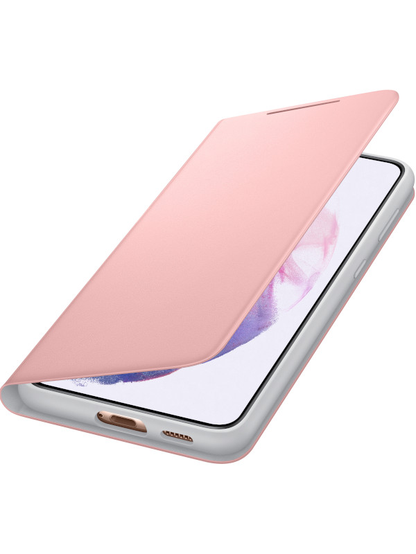 Чехол для Samsung Galaxy S21 Plus Smart LED View Cover Pink EF-NG996PPEGRU