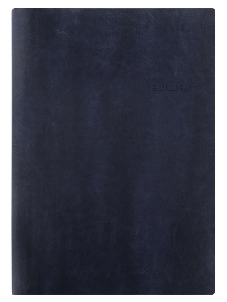 Ежедневник Letts Lecassa A4 искусственная кожа Blue 822996