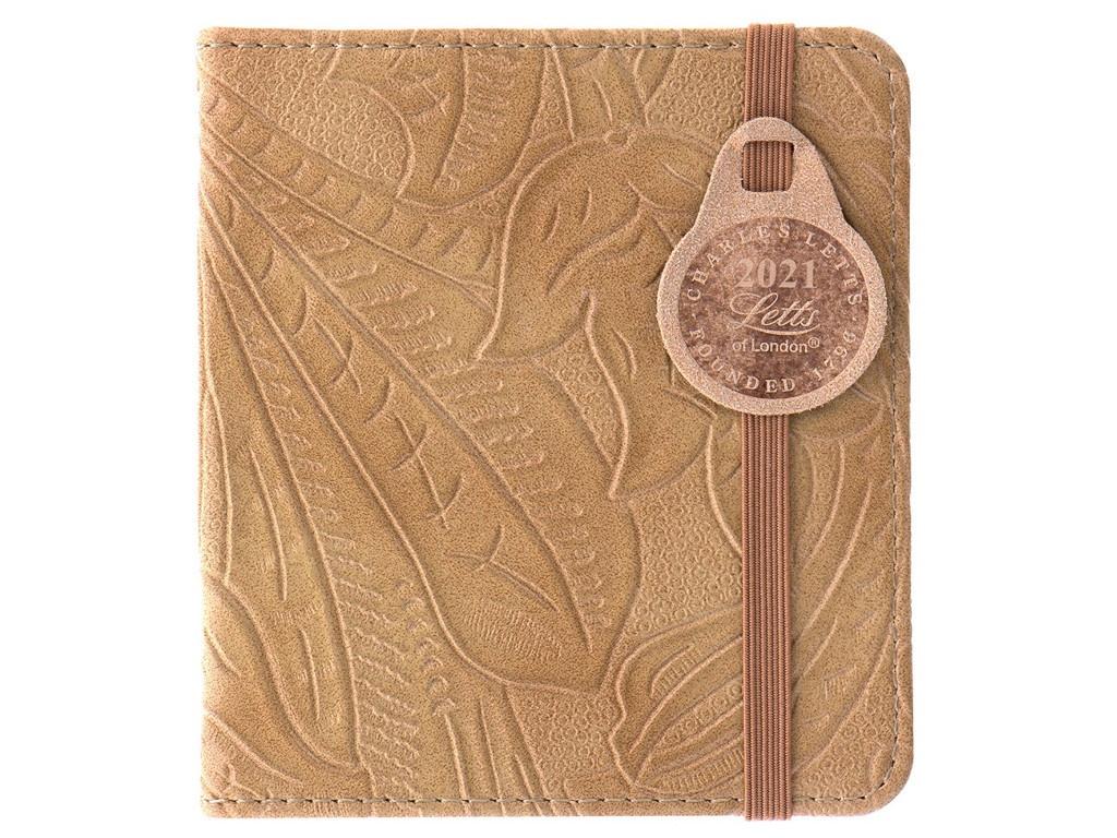 Ежедневник Letts Baroque 100x90mm искусственная кожа Beige 822988
