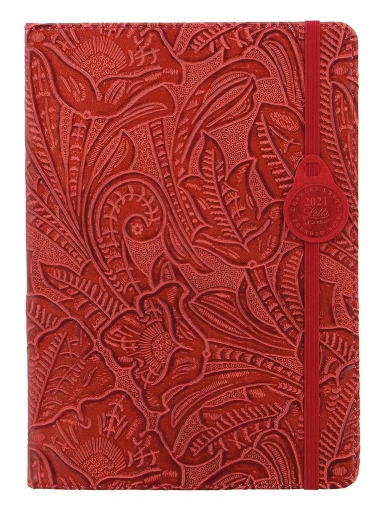 Ежедневник Letts Baroque A5 искусственная кожа Red 822978