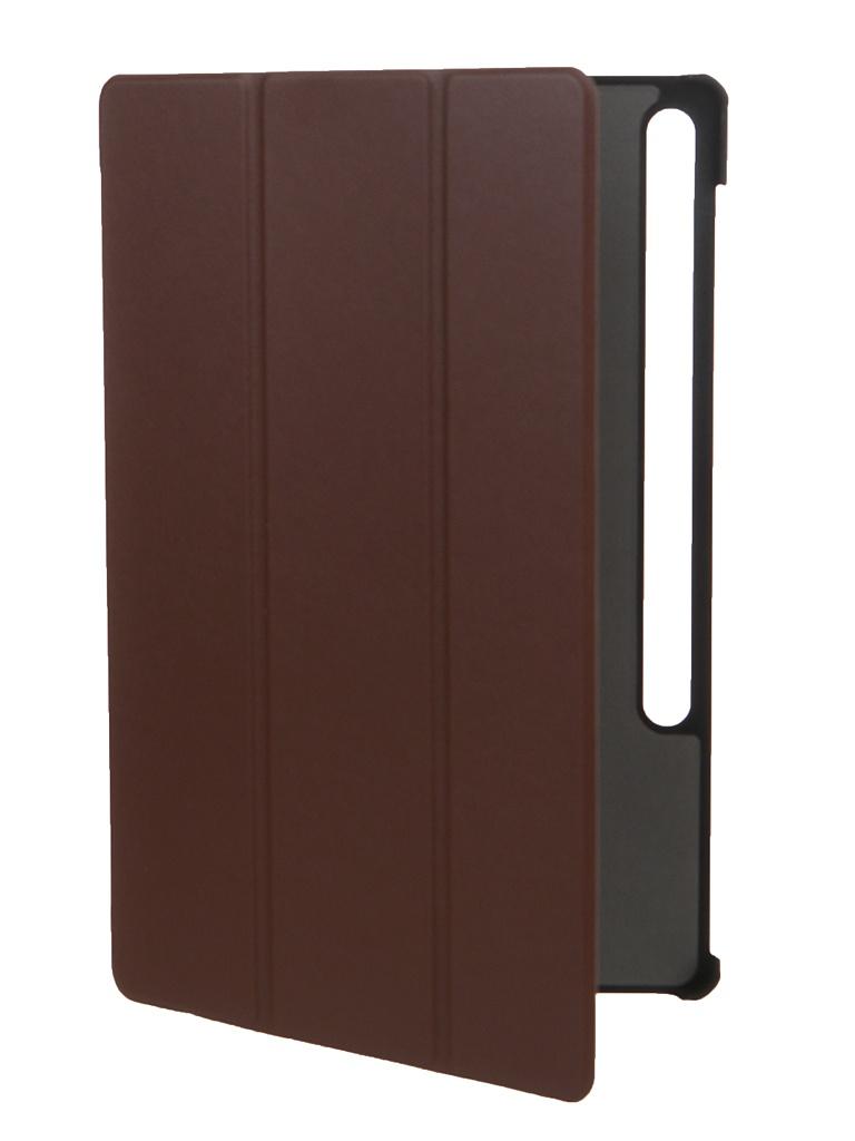 Чехол Red Line для Samsung Galaxy Tab S7 Plus 12.4 Book Cover Brown УТ000023241