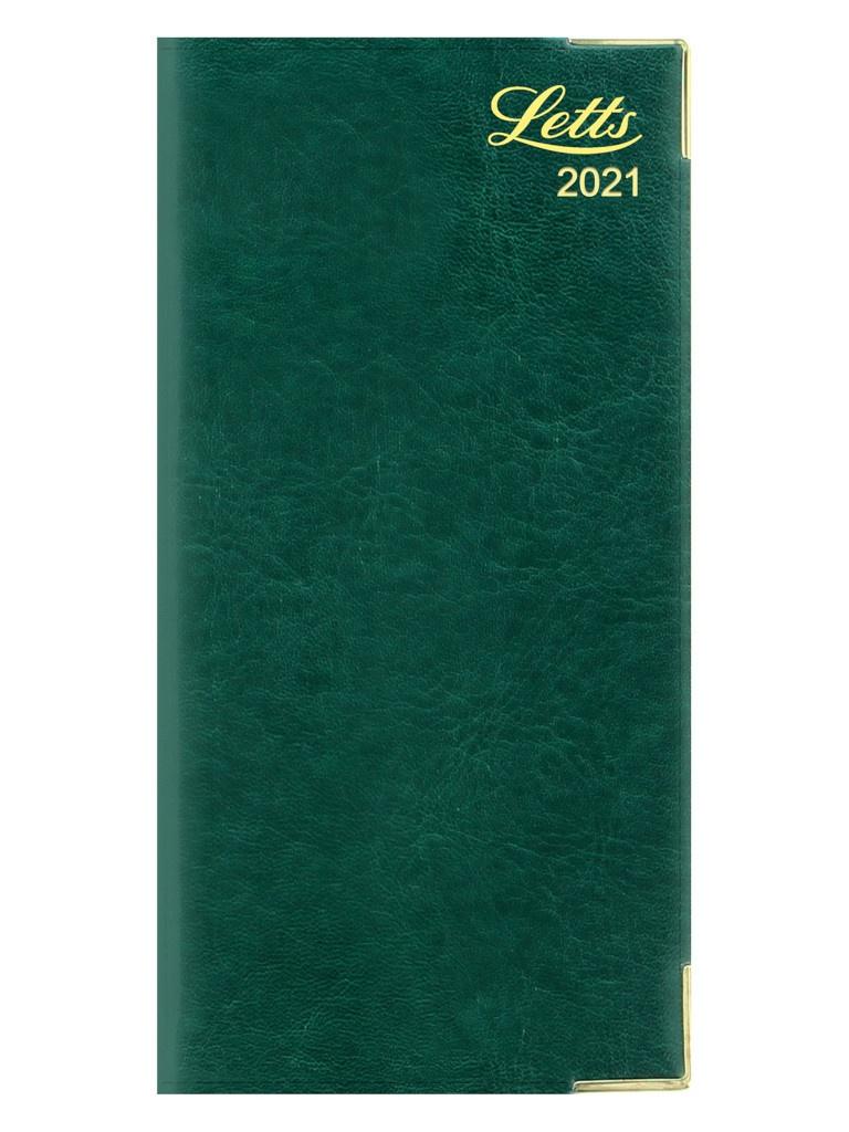 Ежедневник Letts Lexicon A6 искусственная кожа Green 822948