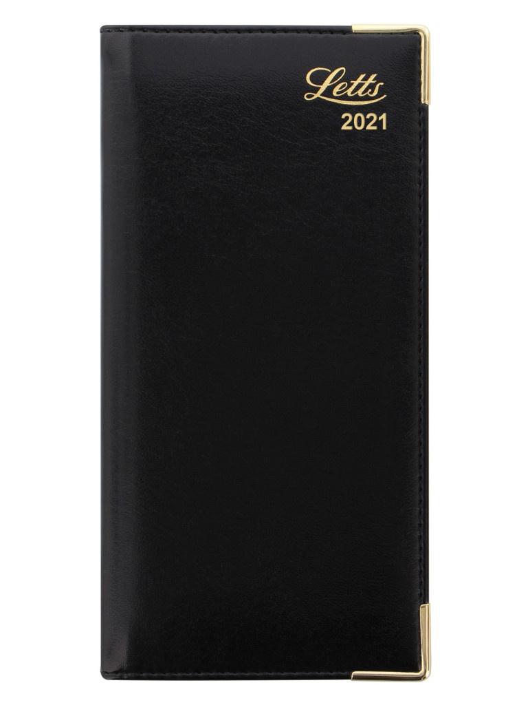 Ежедневник Letts Lexicon A6 искусственная кожа Black 822946