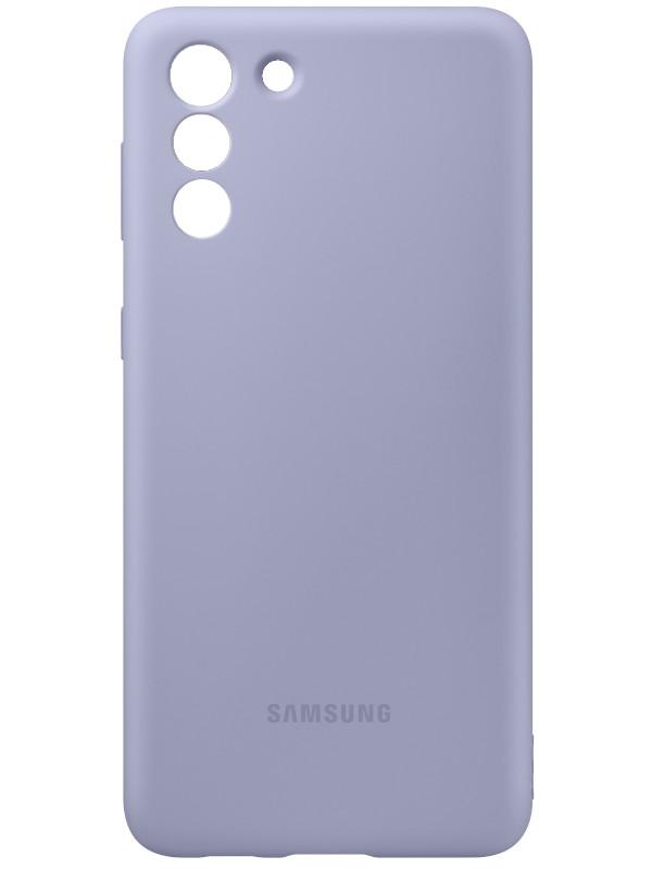 Чехол для Samsung Galaxy S21 Plus Silicone Cover Violet EF-PG996TVEGRU