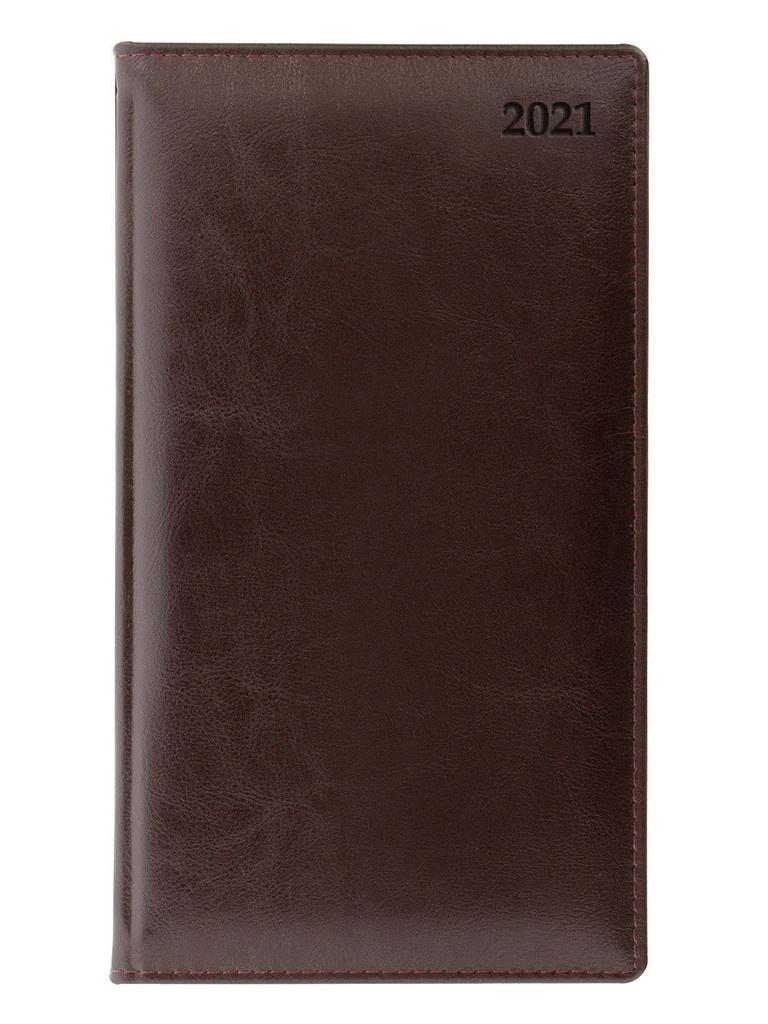 Ежедневник Letts Global Deluxe A6 натуральная кожа Burgundy 822933