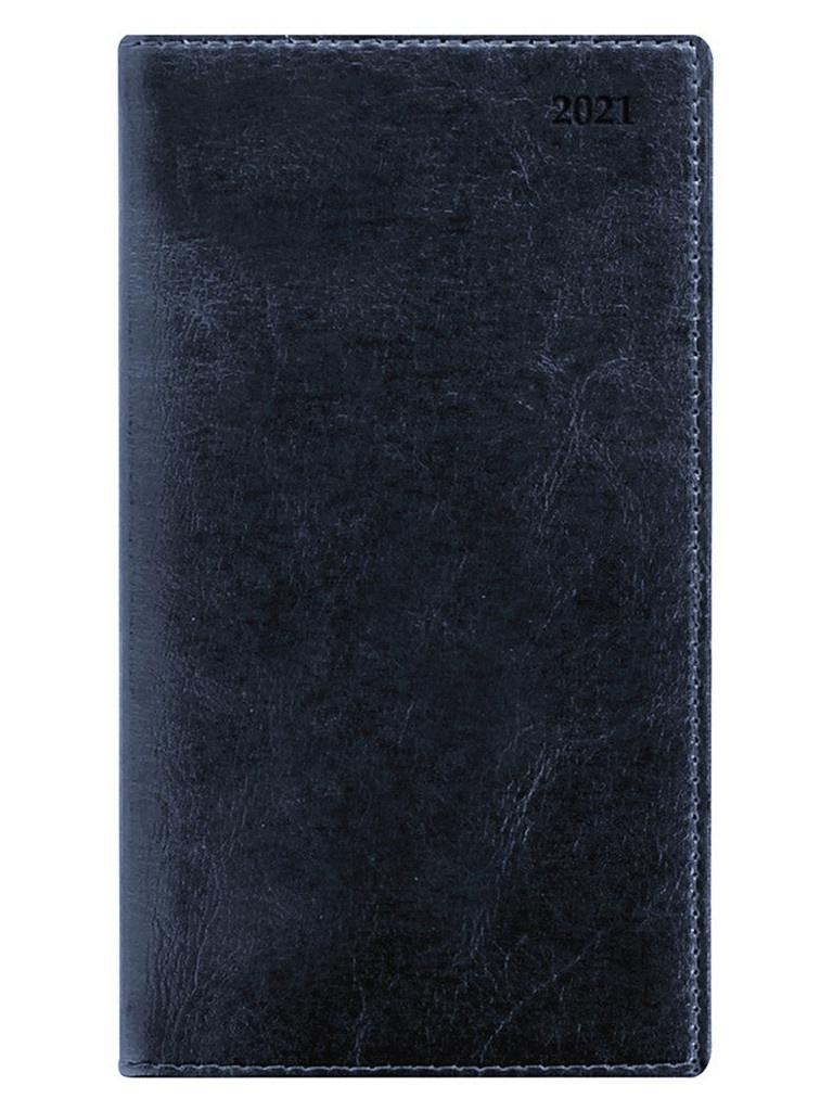 Ежедневник Letts Global Deluxe A6 натуральная кожа Blue 822932