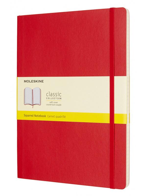 Блокнот Moleskine Classic Soft XLarge 190х250mm 96 листов Red QP622F2 / 431025