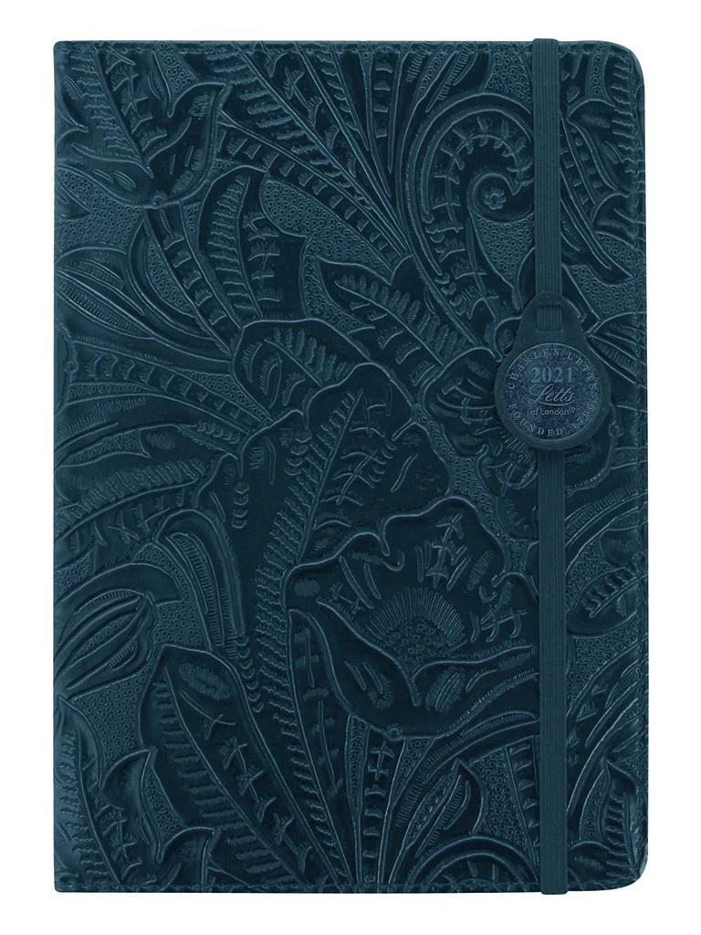 Ежедневник Letts Baroque A5 искусственная кожа Blue 1051276