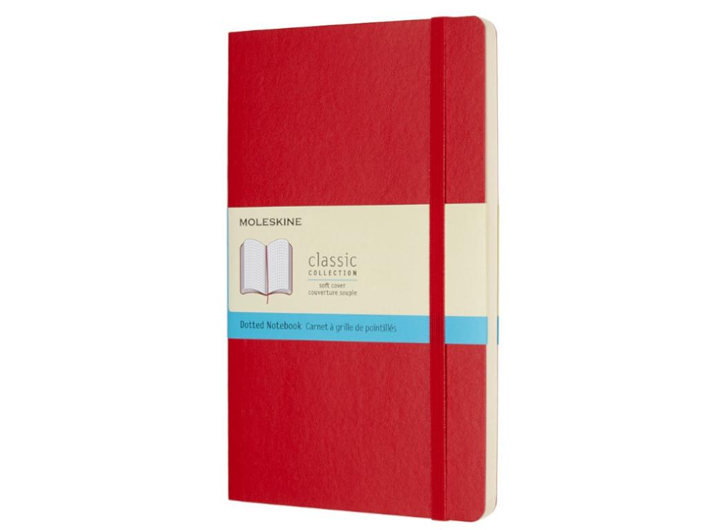 Блокнот Moleskine Classic Soft Large 130х210mm 96 листов Red QP619F2 / 430976