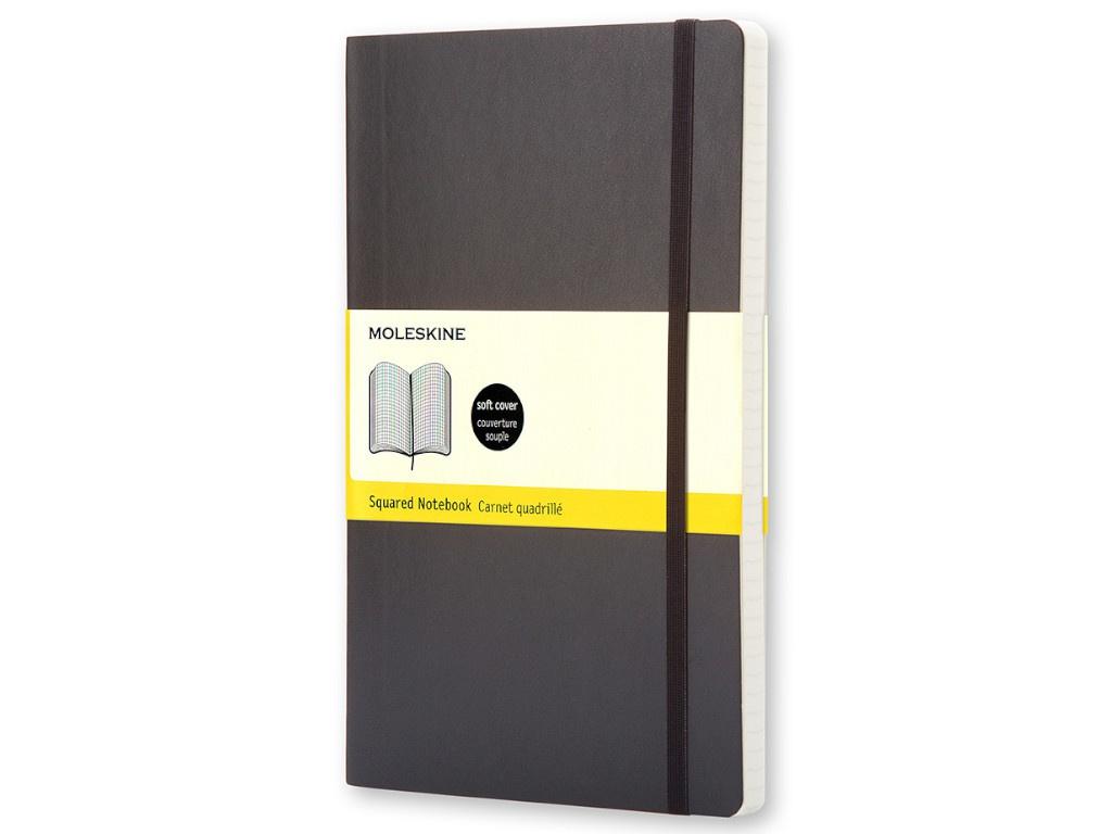 Блокнот Moleskine Classic Soft Large 130х210mm 96 листов Black QP617 / 385251