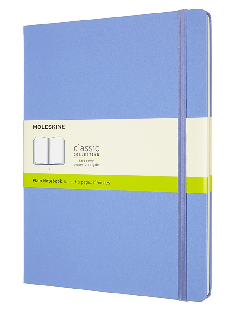 Блокнот Moleskine Classic XLarge 190x250mm 96 листов Blue Hydrangea 1214889