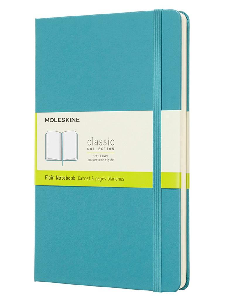 Блокнот Moleskine Classic Large 130х210mm 120 листов Blue QP062B35 / 1048956