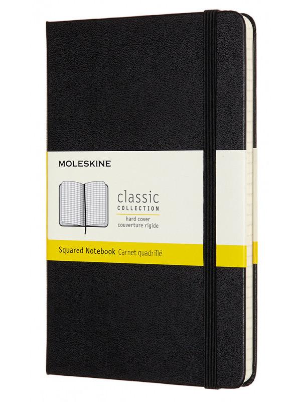 Блокнот Moleskine Classic Medium 115x180mm 120 листов Black QP051 / 1127644 блокнот для рисования moleskine art sketchbook medium 115x180mm 72 листа black artqp054 1139405