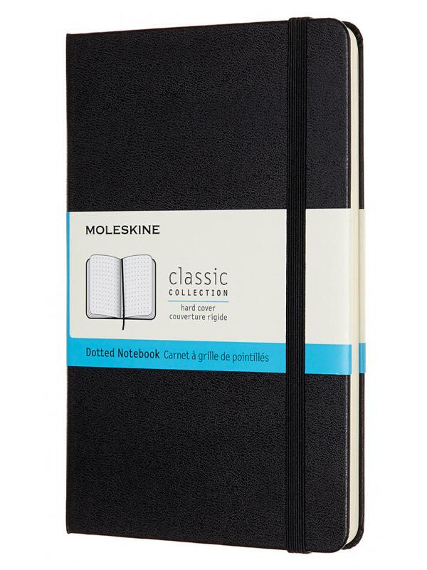 Блокнот Moleskine Classic Medium 115x180mm 120 листов Black QP053 / 1127659 блокнот для рисования moleskine art sketchbook medium 115x180mm 72 листа black artqp054 1139405