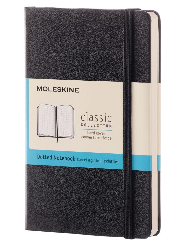 Блокнот Moleskine Classic Pocket 90x140mm 96 листов Black MM713 / 393761