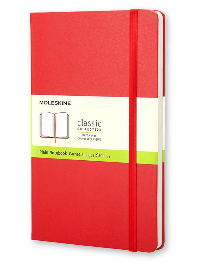 Блокнот Moleskine Classic Large 130х210mm 120 листов Red QP062R / 385222