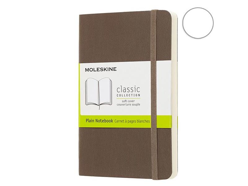 Блокнот Moleskine Classic Soft Large 130х210mm 96 листов Brown QP618P14 / 1056578