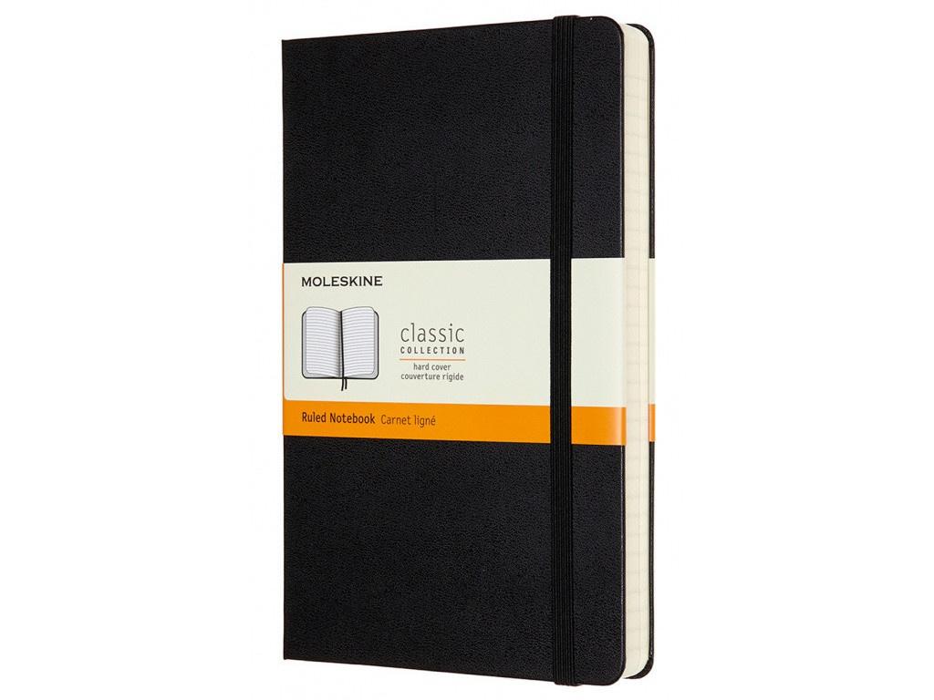 Блокнот Moleskine Classic Expended Large 130х210mm 200 листов Black QP060EXP / 1127515