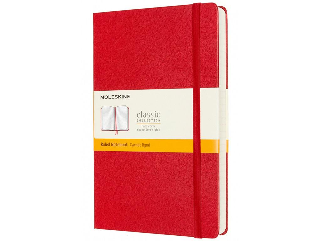 Блокнот Moleskine Classic Expended Large 130х210mm 200 листов Red QP060EXPF2 / 1214830