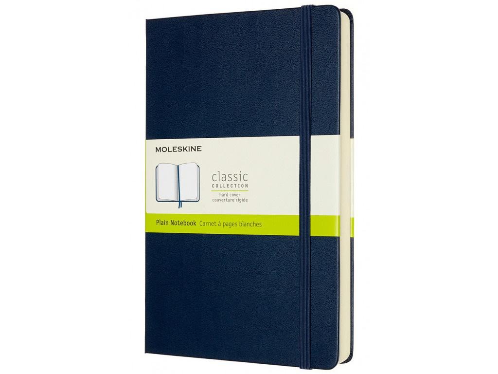 Блокнот Moleskine Classic Expended Large 130х210mm 200 листов Sapphire Blue QP062EXPB20 / 1214845