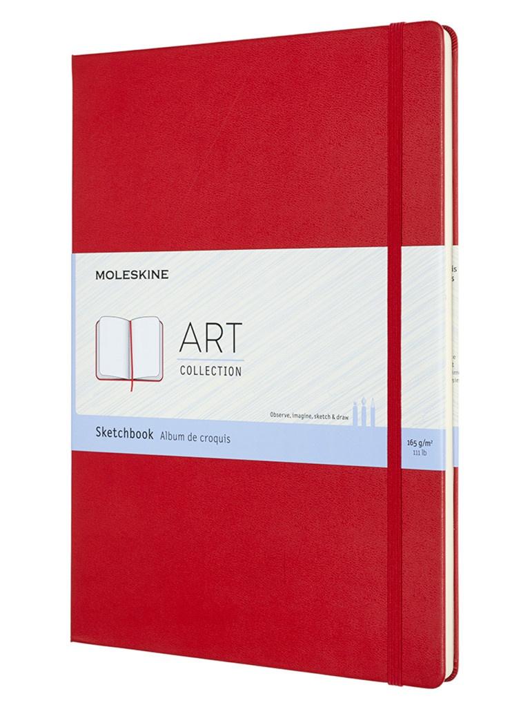 Блокнот для рисования Moleskine Art Sketchbook A4 52 листа Red ARTBF832F2 / 1133650