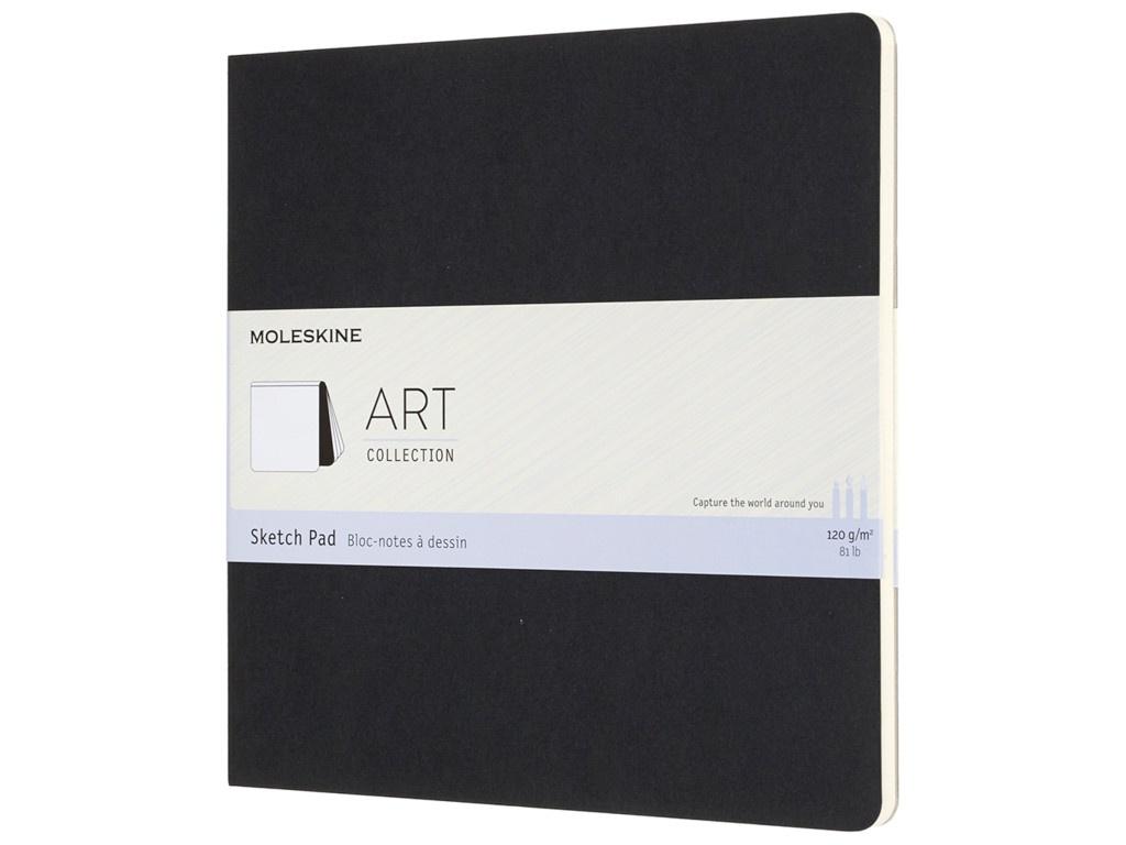 Блокнот для рисования Moleskine Art Soft Sketch Pad 190x190mm 44 листа Black ARTSKPAD5 / 1128226