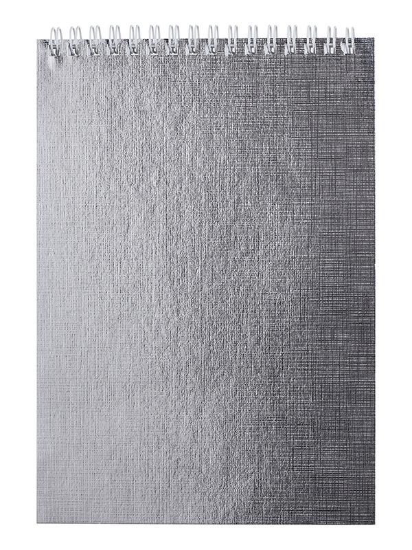 Блокнот Hatber А5 Metallic 80 листов Mint 80Б5бвВ1гр