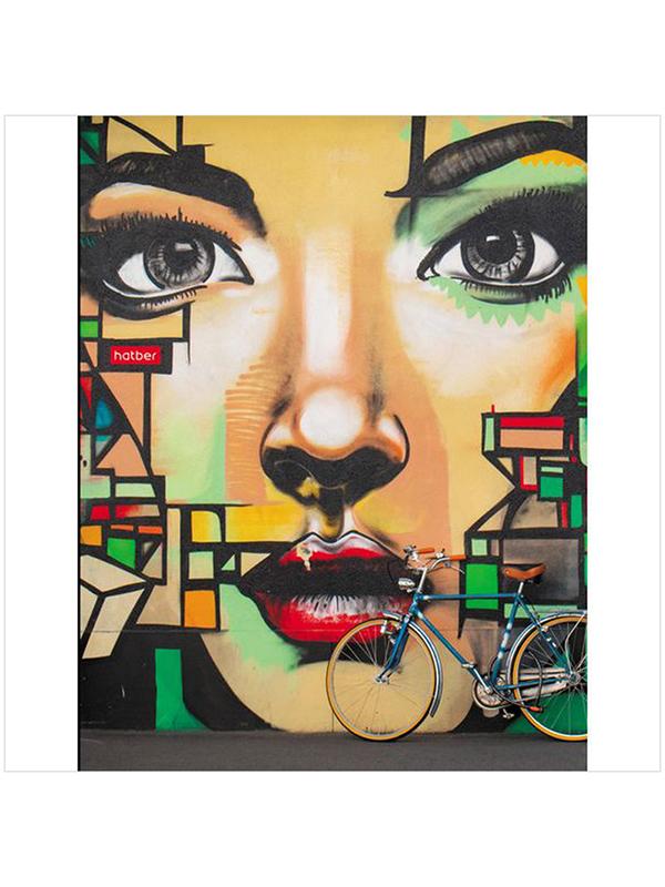 Тетрадь на кольцах Hatber Street Art A5 160 листов 160ТК5В1_22821