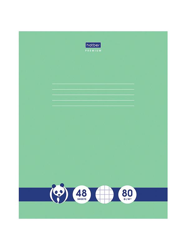 Тетрадь Hatber Premium Панда A5 48 листов 48Т5А1_23630