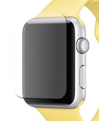 Фото - Аксессуар Гибридное защитное стекло Krutoff для APPLE Watch 1 / 2 / 3 38mm 03714 аксессуар защитное стекло krutoff 3d full cover для apple watch 1 2 3 42mm 2764