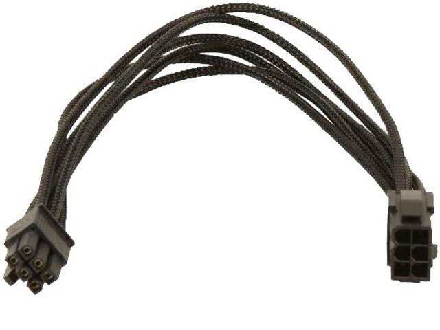 Аксессуар Удлинитель Gelid 6-pin PCI-E 30см Black CA-6P-01