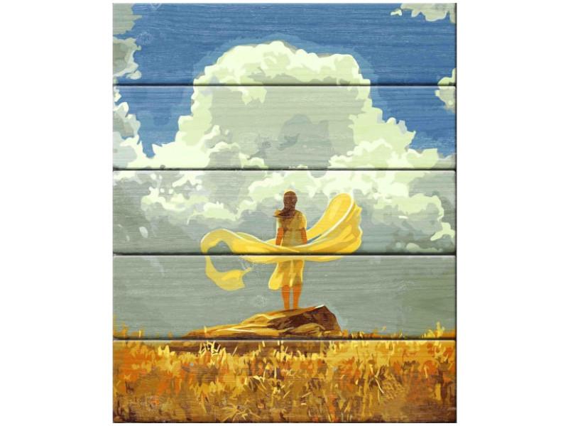 Картина по номерам Dali Арт дереву Утро А. Чебоха WK001
