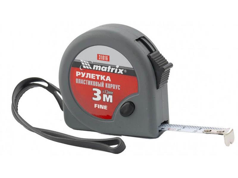 Рулетка Matrix Fine 3m x 16mm 31016