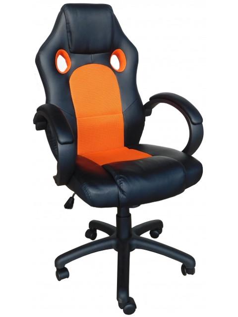 Компьютерное кресло Меб-фф MF-2008H Black-Orange