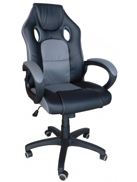 Компьютерное кресло Меб-фф MF-349 Black-Dark Gray