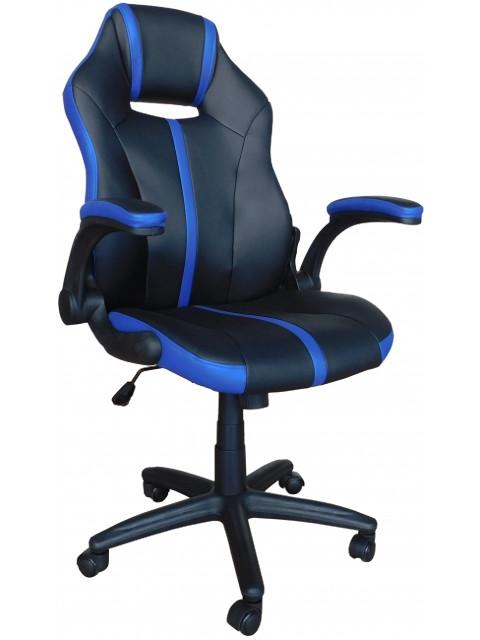 Компьютерное кресло Меб-фф MF-609 Black-Dark Blue