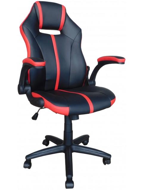 Компьютерное кресло Меб-фф MF-609 Black-Red